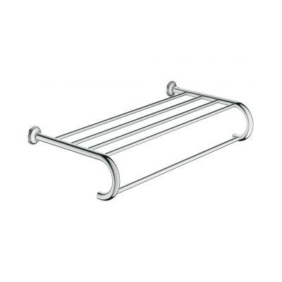 Grohe Essentials Authentic półka z wieszakiem na ręczniki chrom 40660001