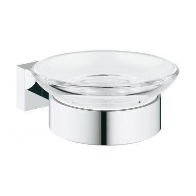 Grohe Essentials Cube mydelniczka z uchwytem chrom 40754001