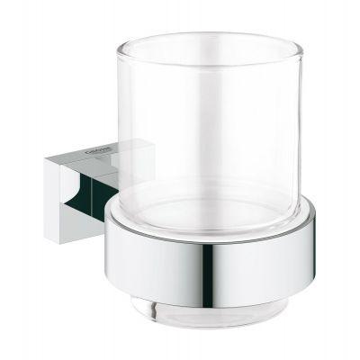 Grohe Essentials Cube szklanka z uchwytem chrom 40755001