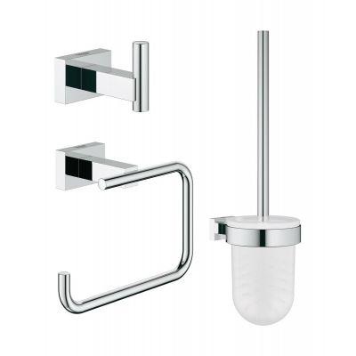 Grohe Essentials Cube zestaw akcesoriów łazienkowych 3w1 City Reastroom 40757001