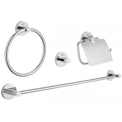 Grohe Essentials zestaw akcesoriów łazienkowych 4w1 Master 40776001