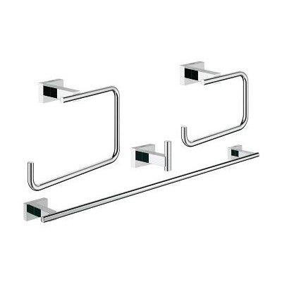 Grohe Essentials Cube zestaw akcesoriów łazienkowych 4w1 Master 40778001