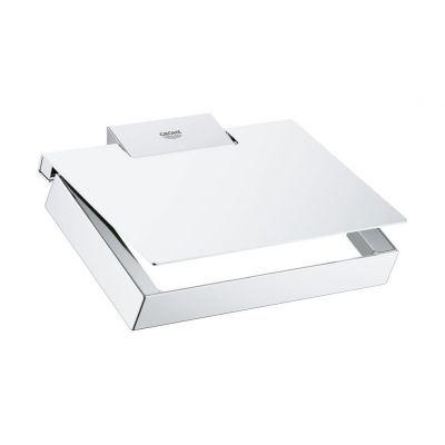 Grohe Selection Cube uchwyt na papier toaletowy chrom 40781000