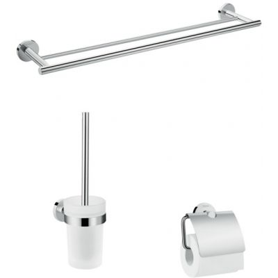 Hansgrohe Logis Universal zestaw akcesoriów łazienkowych chrom 41727000