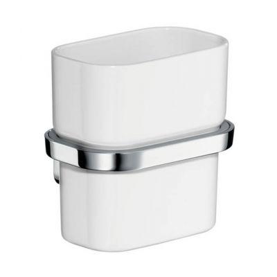 Axor Urquiola kubek do mycia zębów ścienny szkło/chrom 42434000
