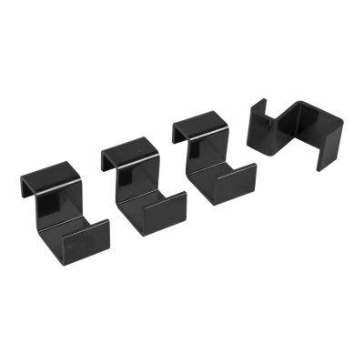 Instal Projekt HS3 wieszaki grzejnikowy czarny 4HS3-0C2