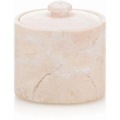 Kela Marble pojemnik na płatki higieniczne marmur KE-18767