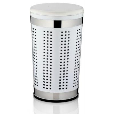 Kela Sevilla kosz na pranie metal/tworzywo białe KE-21817