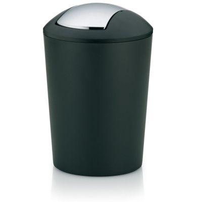 Kela Marta kosz na śmieci 5 litrów czarny KE-22300