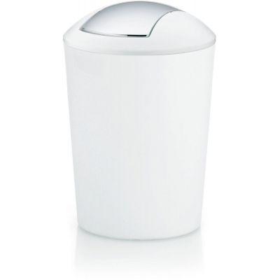 Kela Marta kosz na śmieci 5 litrów biały KE-22301
