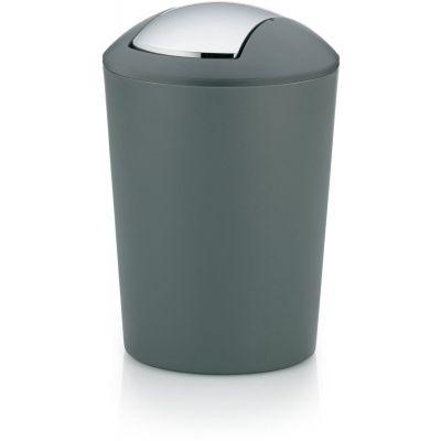 Kela Marta kosz na śmieci 5 litrów szary KE-22302