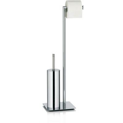 Kela Style stojak na papier toaletowy ze szczotką WC chrom KE-22490