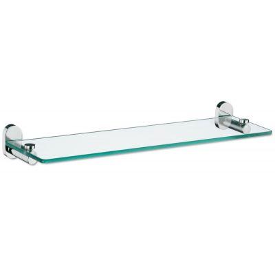 Kela Lucido półka 50x14 cm szklana stal/szkło 22686