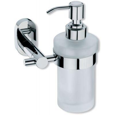 Kela Lucido dozownik do mydła w płynie stal/szkło KE-22695