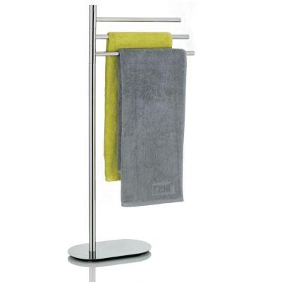 Kela Lucido wieszak na ręczniki stojący potrójny stal KE-22699