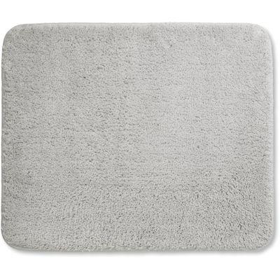Kela Livana dywanik łazienkowy 65x55 cm szary KE-24014