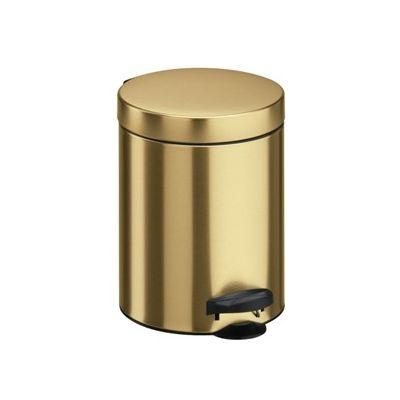 Meliconi New Line kosz na śmieci 5 litrów stojący złoty 14004703900BA