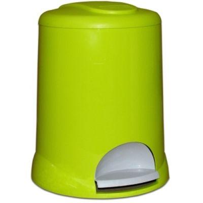 Meliconi Plastic Round kosz na śmieci 5 litrów stojący zielony 14107762734BA