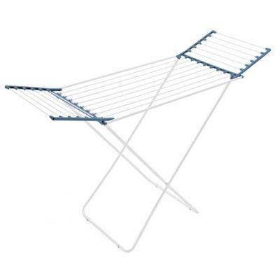 Meliconi Lock Resin suszarka na pranie 18 metrów stojąca stal nierdzewna/niebieski 72300004102