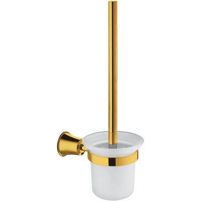 Omnires Art Line szczotka toaletowa wisząca złota AL53620GL