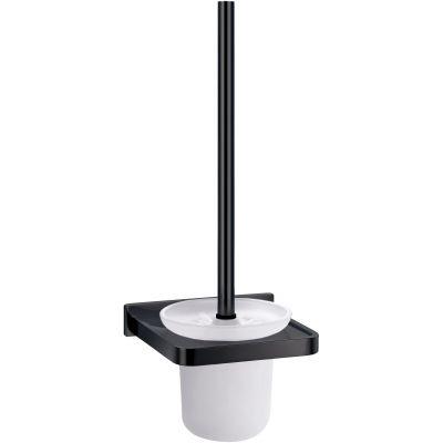 Omnires Darling szczotka toaletowa wisząca czarny półmat DA70620BL
