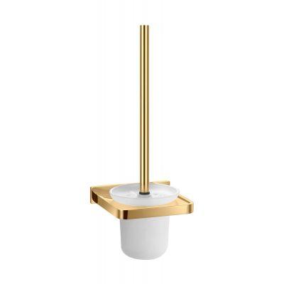 Omnires Darling szczotka toaletowa wisząca złota DA70620GL