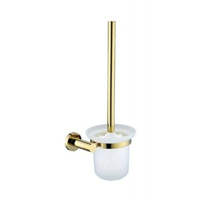 Omnires Modern Project szczotka toaletowa wisząca złota MP60620GL