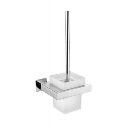 Omnires Nelson szczotka toaletowa wisząca chrom NL80620CR