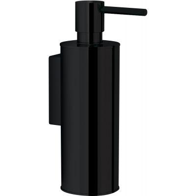 Omnires Uni dozownik mydła w płynie wiszący czarny UN10720/OBL