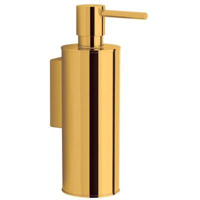 Omnires Uni dozownik mydła w płynie wiszący złoty UN10720/OGL