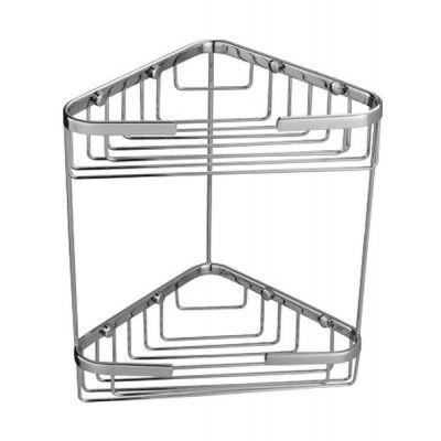 Omnires Uni koszyk prysznicowy podwójny chrom UN3515ACR