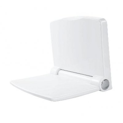 Omnires Yogi krzesełko prysznicowe łazienkowe białe YOGI1