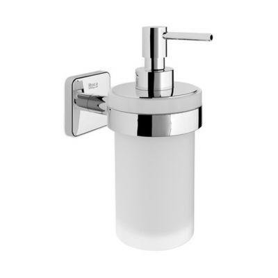 Roca Victoria dozownik do mydła ścienny szkło/chrom A816678001