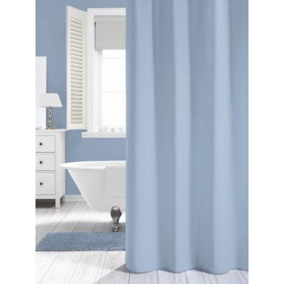 Sealskin Madeira zasłona prysznicowa tekstylna 240 cm niebieska 238501520