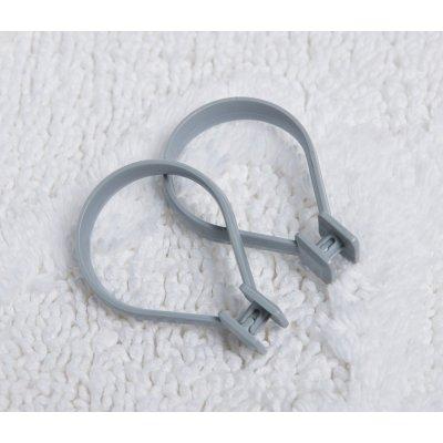Sealskin Beauty Ring kółka do zasłon 12 sztuk szare 251060211
