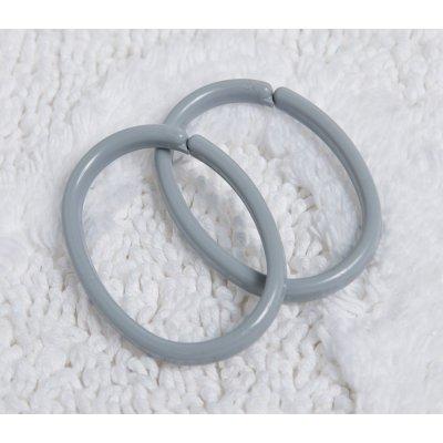 Sealskin Clips Ring kółka do zasłon 12 sztuk szare 252060211