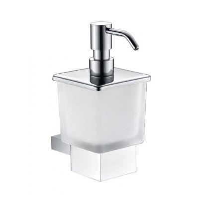 Stella Oslo dozownik do mydła w płynie szkło matowe/chrom 02.423