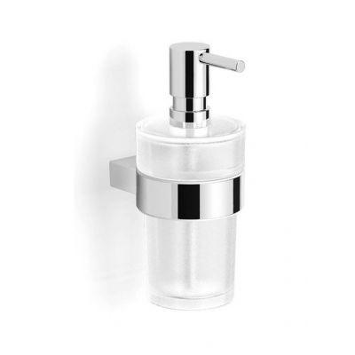 Stella Soul dozownik do mydła w płynie szkło matowe/chrom 06.423