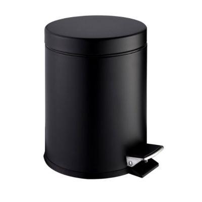 Stella Standard kosz na śmieci 5 l czarny matowy 20.005-MB