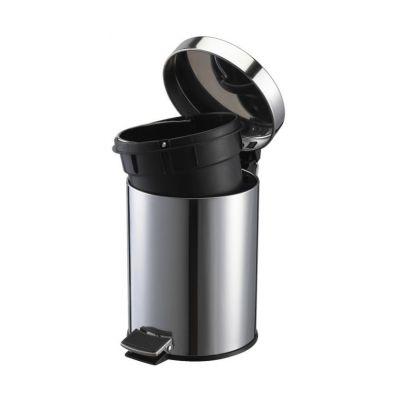 Stella kosz na śmieci 3 litry stal nierdzewna połysk 20.003
