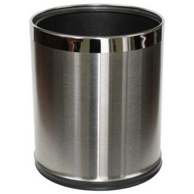 Stella kosz na śmieci 9 litrów ze zdejmowaną obudową stal szczotkowana 20.100-SB