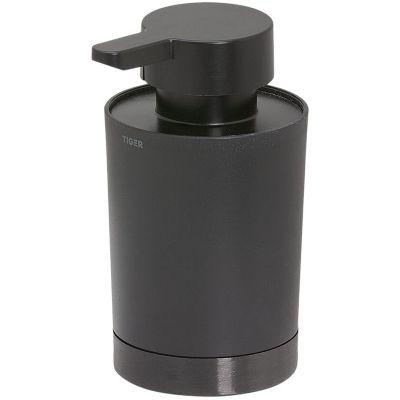 Tiger Tune dozownik do mydła stojący szczotkowany czarny mat 13261.3.89.46
