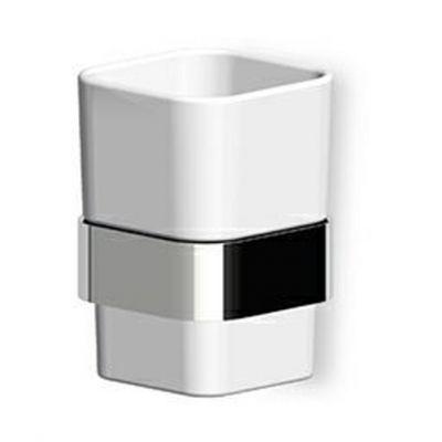 Zucchetti Soft uchwyt kubka nikiel błyszczący ZAC713.C8