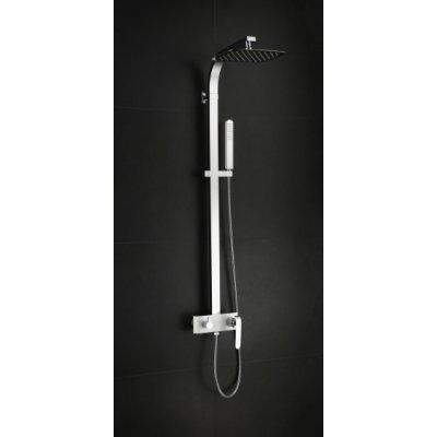 Art Platino Emira zestaw prysznicowy biały/chrom EMI-ZKPN.400BC
