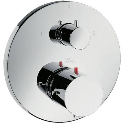 Axor Starck bateria wannowo-prysznicowa podtynkowa termostatyczna chrom 10720000