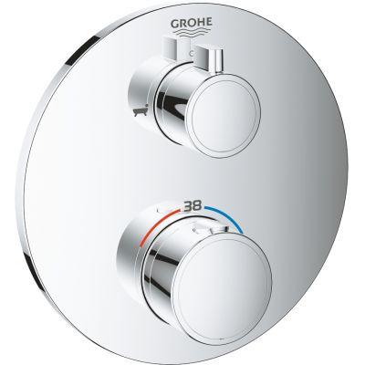 Grohe Grohtherm bateria wannowo-prysznicowa podtynkowa termostatyczna chrom 24077000