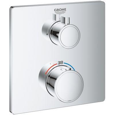 Grohe Grohtherm bateria prysznicowa podtynkowa termostatyczna chrom 24078000