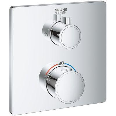 Grohe Grohtherm bateria wannowo-prysznicowa podtynkowa termostatyczna chrom 24079000