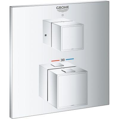 Grohe Grohtherm Cube bateria prysznicowa podtynkowa termostatyczna chrom 24153000
