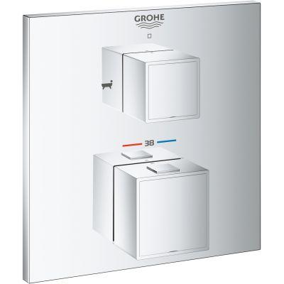 Grohe Grohtherm Cube bateria wannowo-prysznicowa podtynkowa termostatyczna chrom 24155000